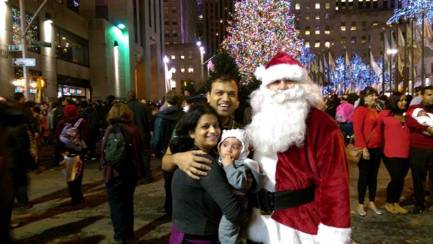 न्यू यॉर्कमधील ख्रिसमस