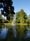 बाड हाम्बुर्गमधल्या बागेत दिसलेलं इंद्रधनुष्य