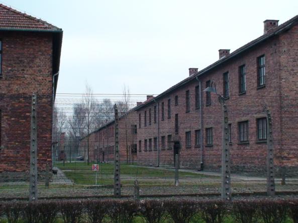 auschwitz barracks