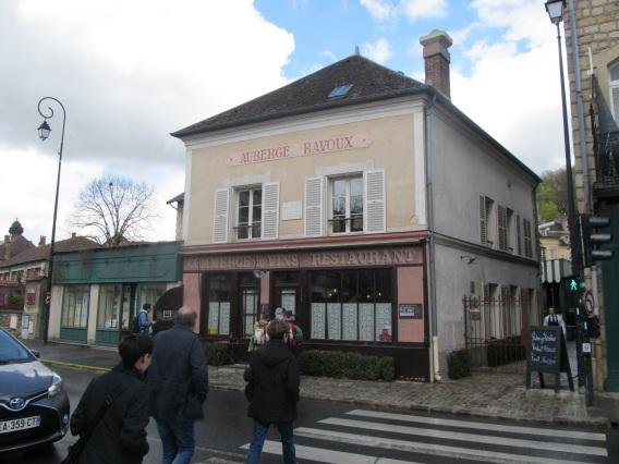 Auvers sur Oise- Auberge Ravoux- Van Gogh hotel room