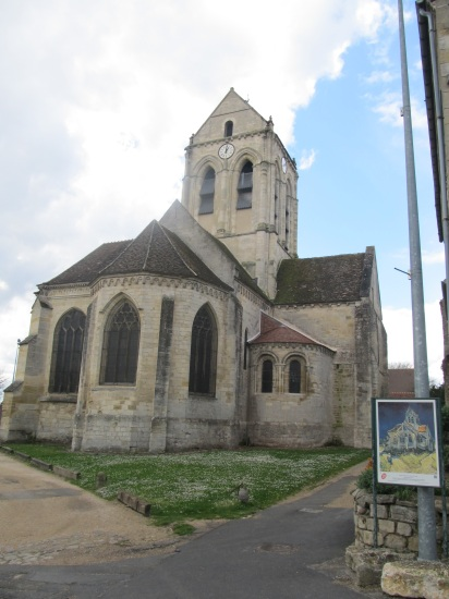 Auvers sur Oise- Cathedral