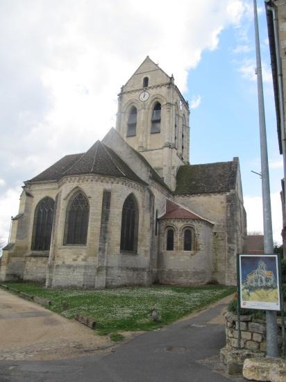Auvers sur Oise- Cathedral