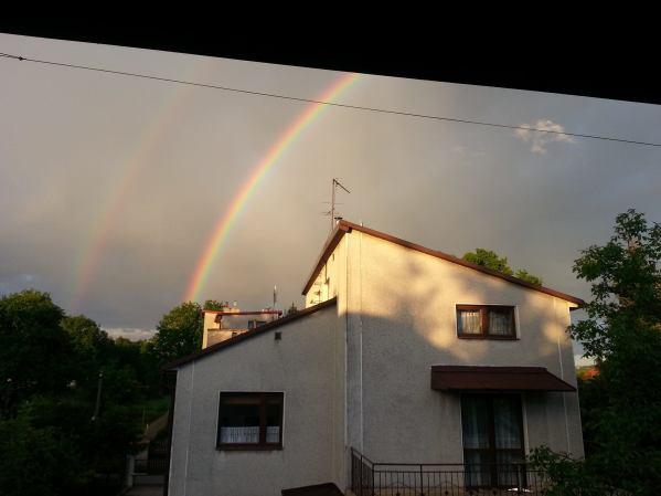 duble rainbow