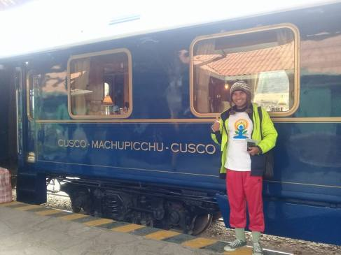 माचुपिचुला जाणारी ट्रेन