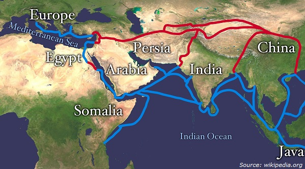Image 4- Overland Route