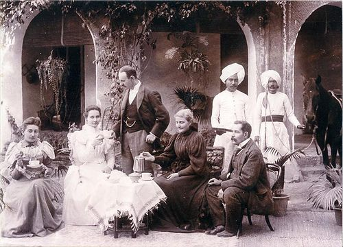 Image 7 - Afternoon Tea-Bombay 1897