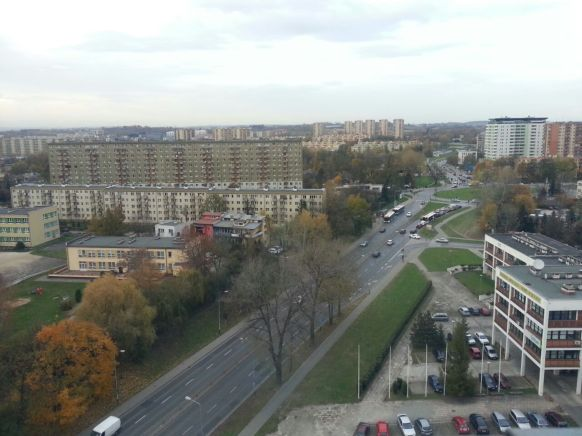 Krakow from my office