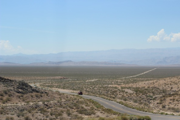 Road to CA from Vegas